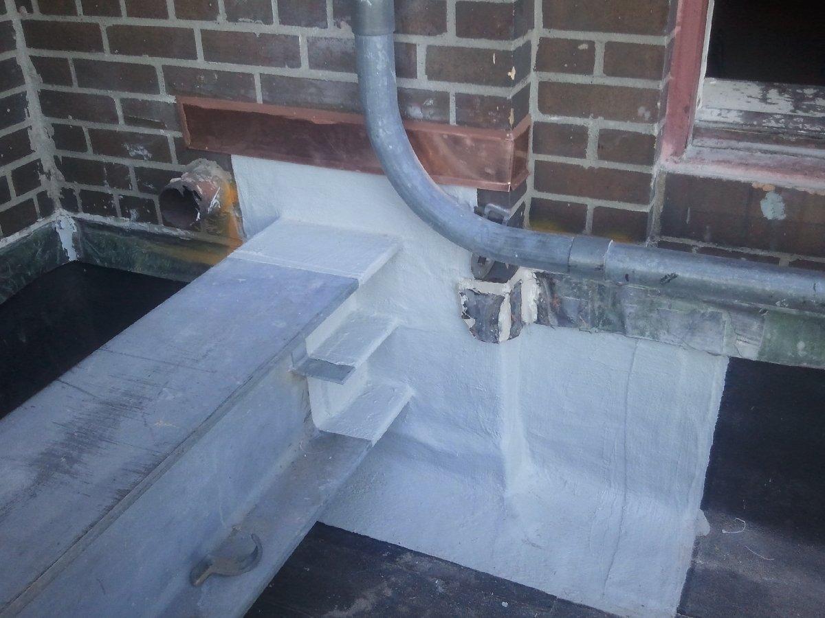 dachy płaskie użytkowe techniczne 104