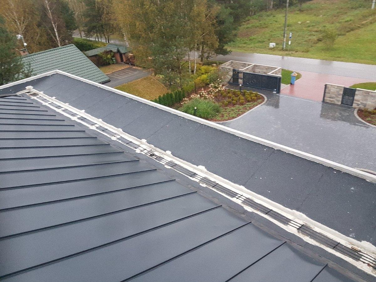 dachy płaskie użytkowe techniczne 115