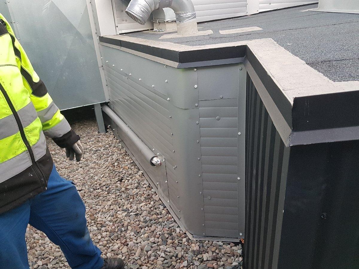 dachy płaskie użytkowe techniczne 119