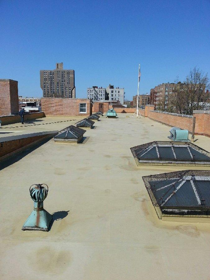 dachy płaskie użytkowe techniczne 12