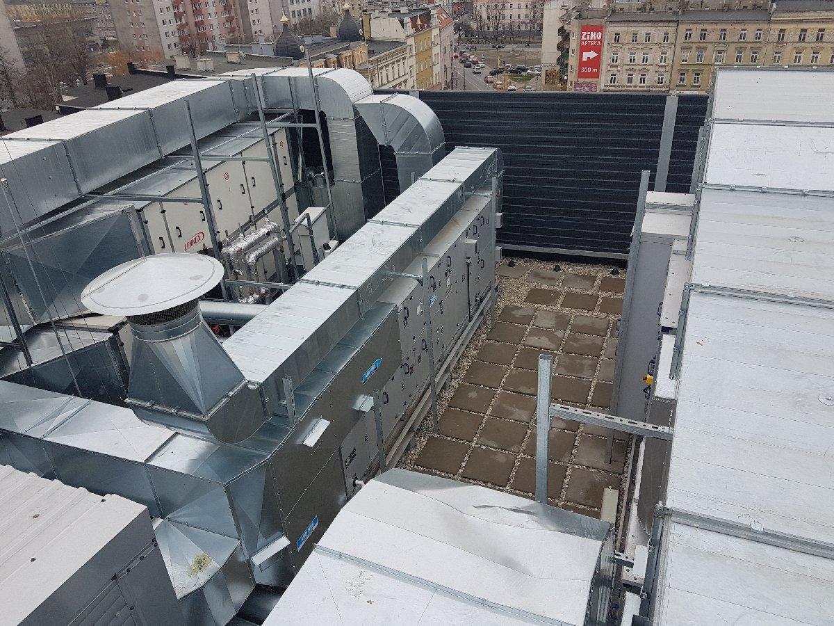 dachy płaskie użytkowe techniczne 122