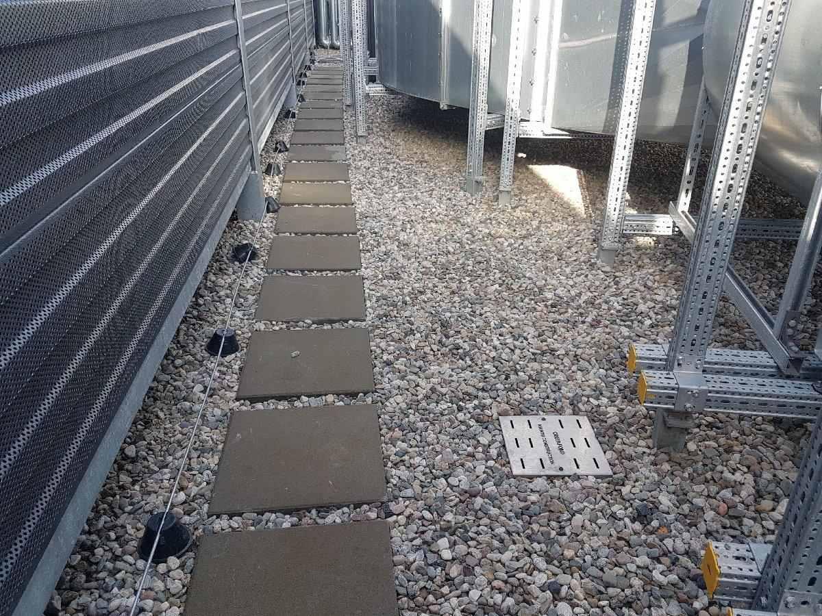 dachy płaskie użytkowe techniczne 126