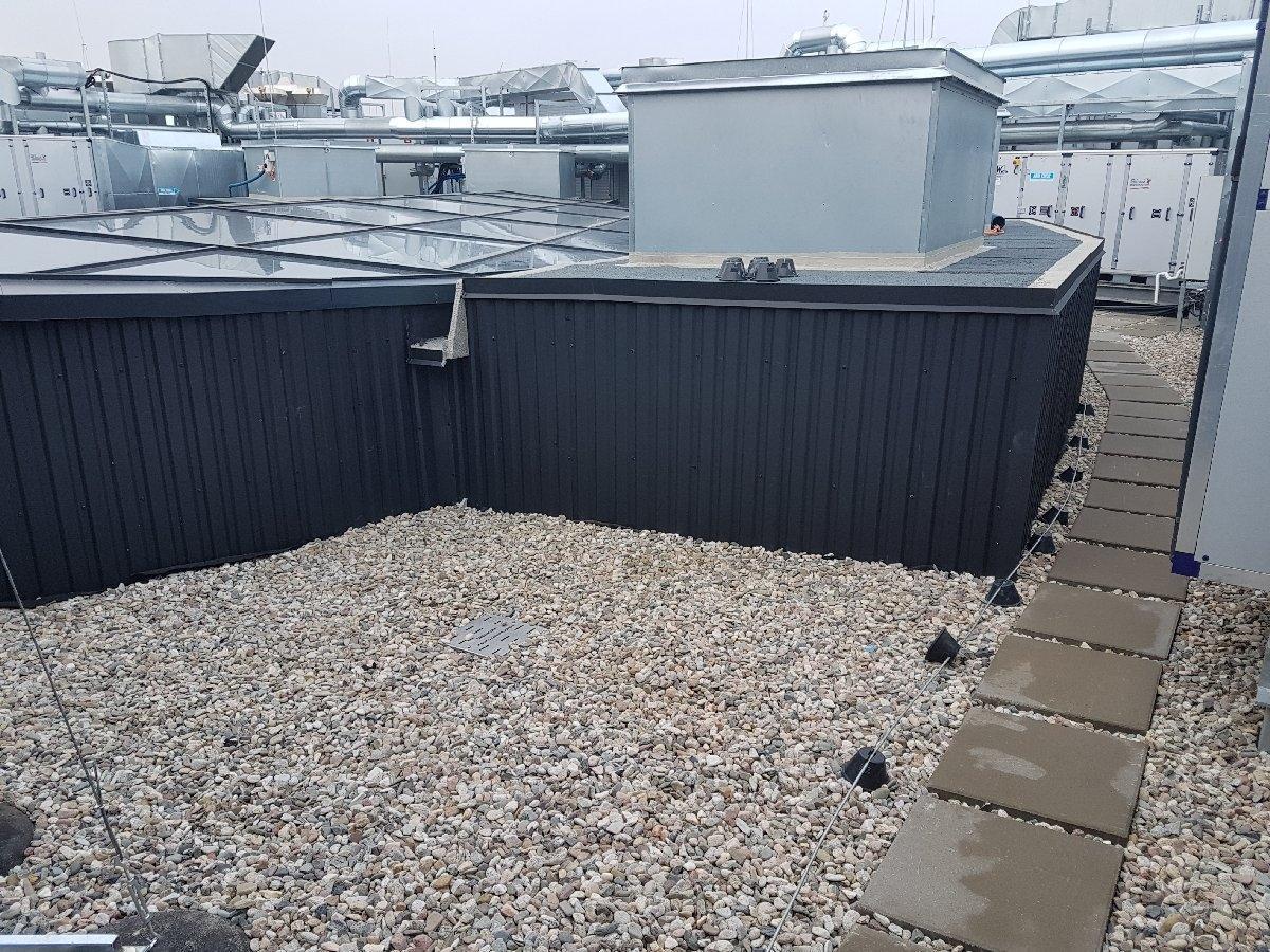 dachy płaskie użytkowe techniczne 128