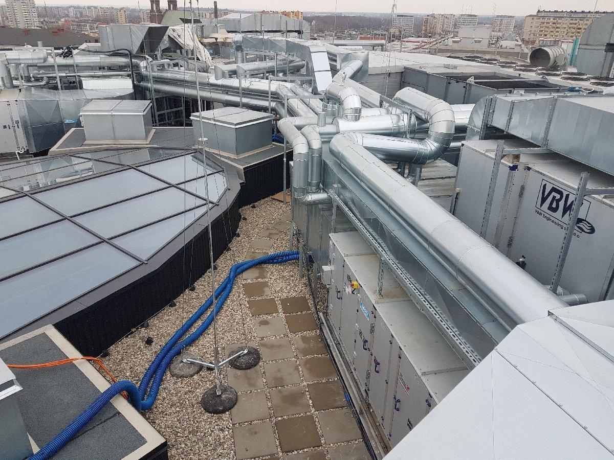 dachy płaskie użytkowe techniczne 132