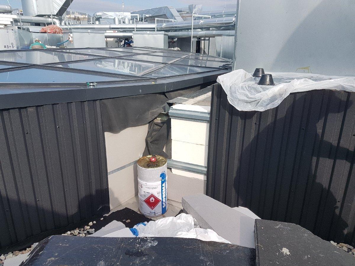 dachy płaskie użytkowe techniczne 143