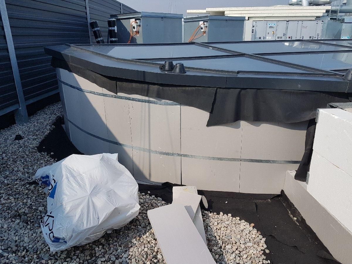 dachy płaskie użytkowe techniczne 144