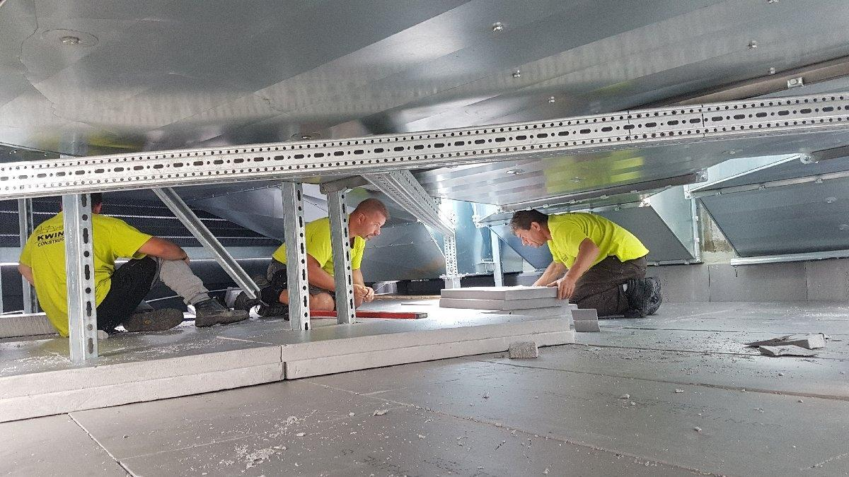 dachy płaskie użytkowe techniczne 151