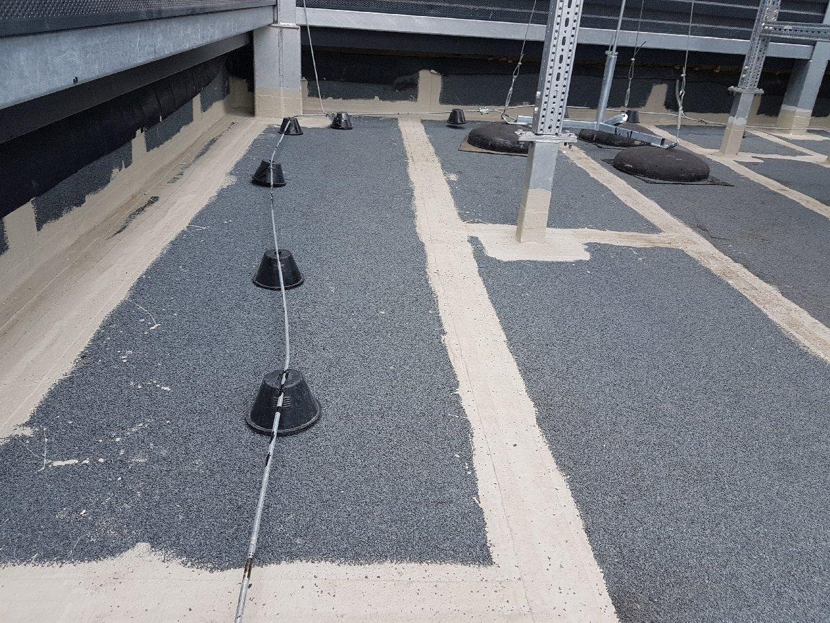 dachy płaskie użytkowe techniczne 160
