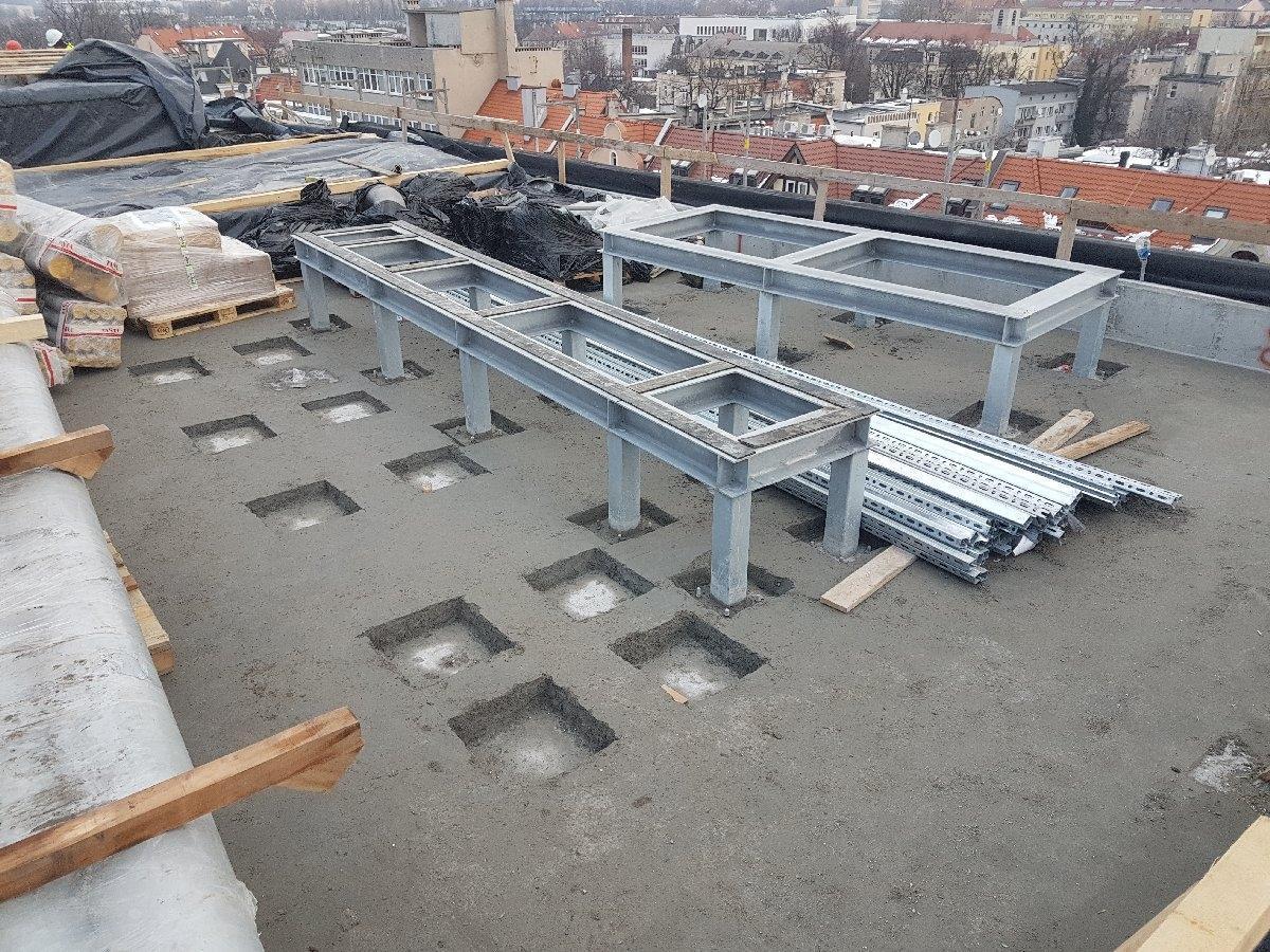 dachy płaskie użytkowe techniczne 169