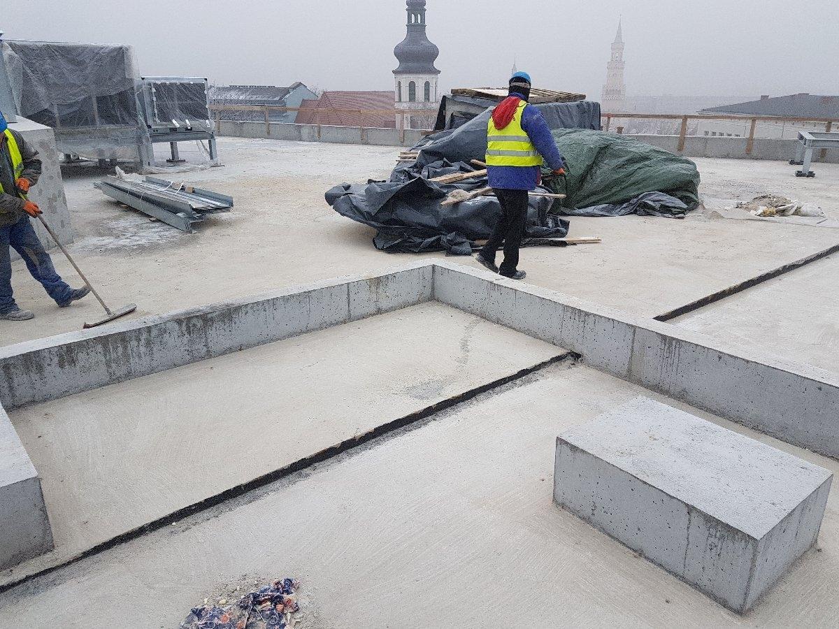 dachy płaskie użytkowe techniczne 174