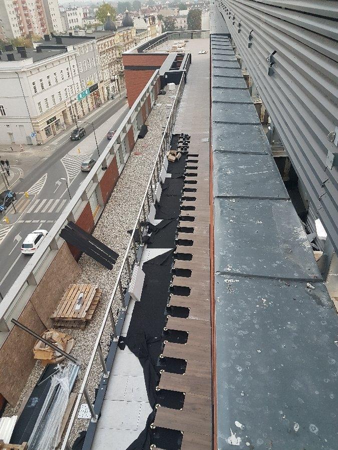 dachy płaskie użytkowe techniczne 187