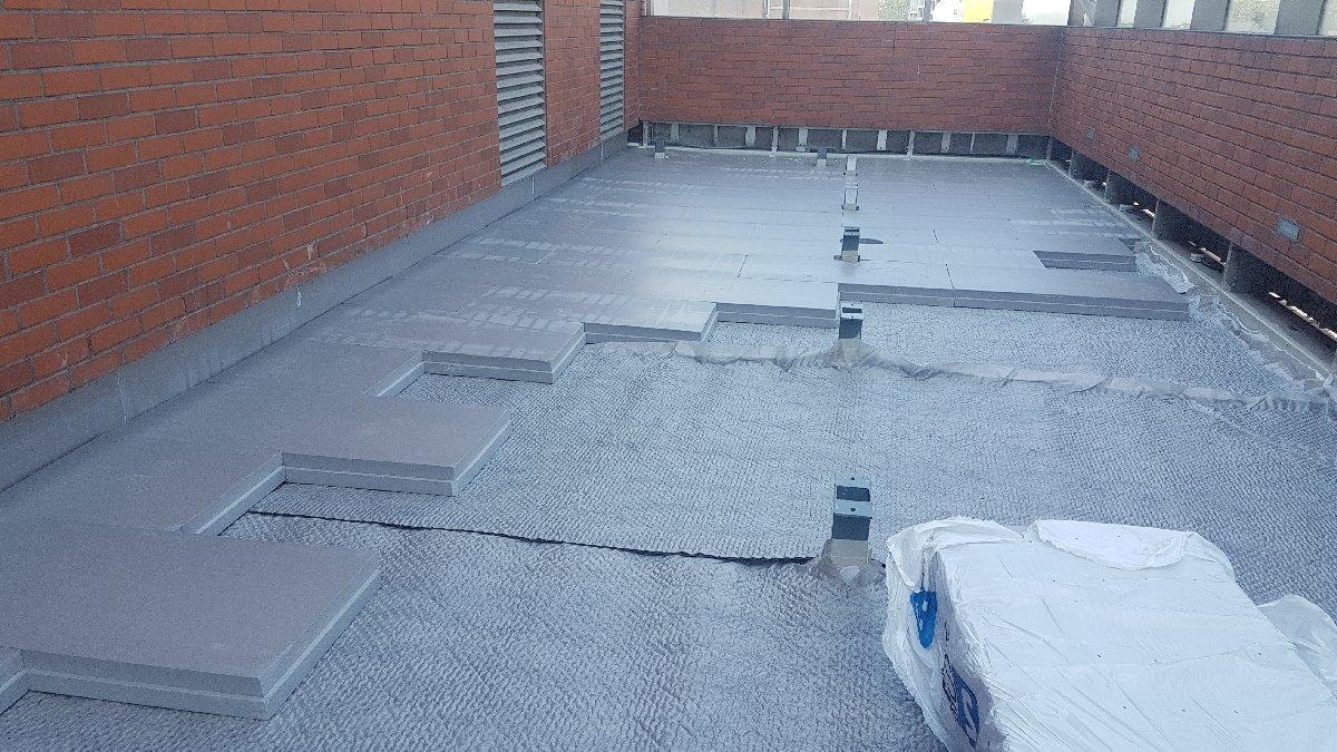 dachy płaskie użytkowe techniczne 189