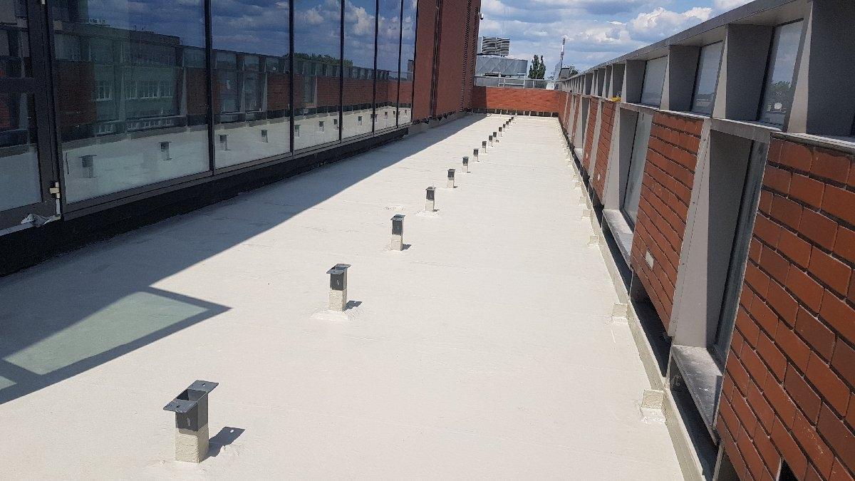 dachy płaskie użytkowe techniczne 191