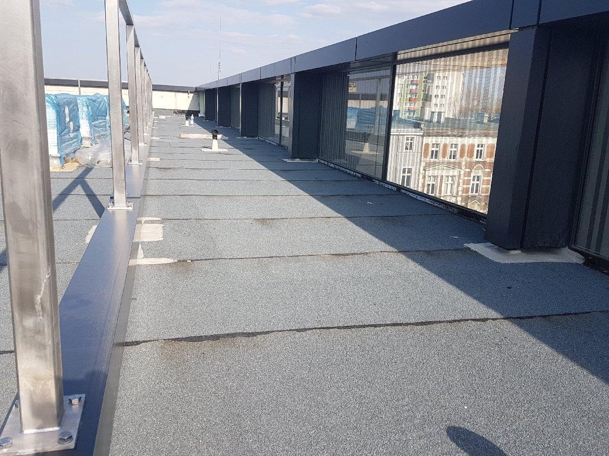 dachy płaskie użytkowe techniczne 206