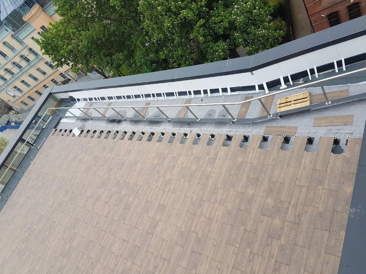 dachy płaskie użytkowe techniczne 207