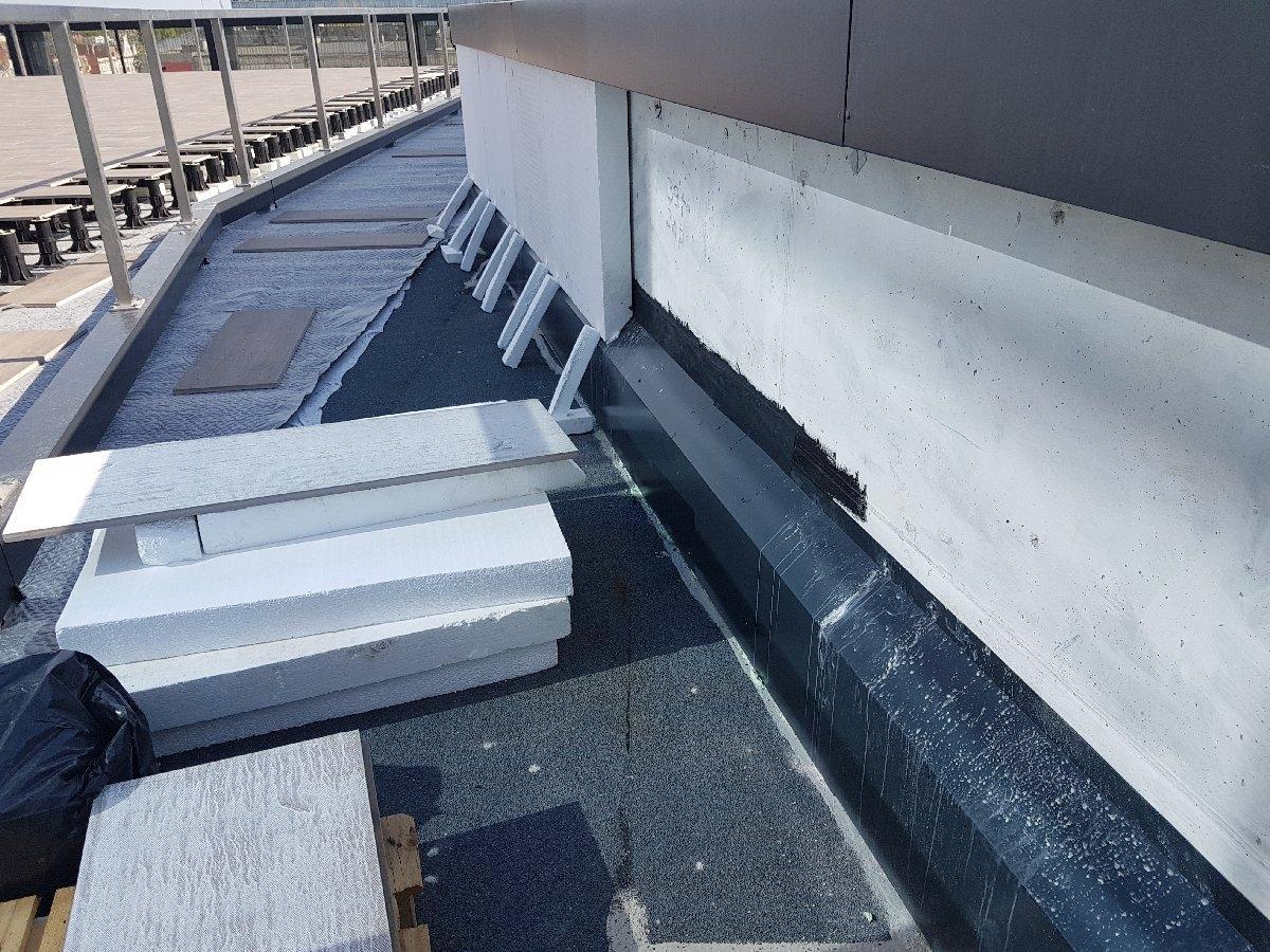 dachy płaskie użytkowe techniczne 208