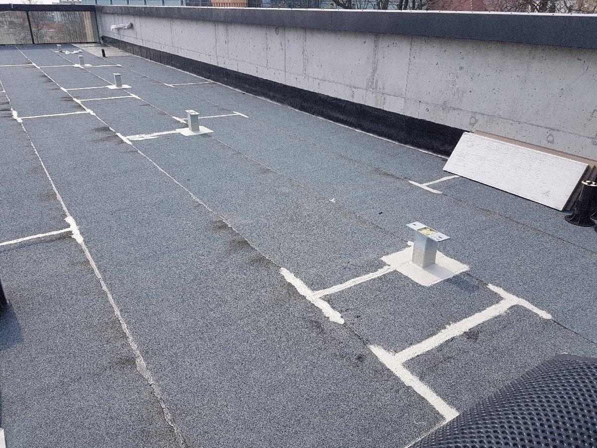 dachy płaskie użytkowe techniczne 211