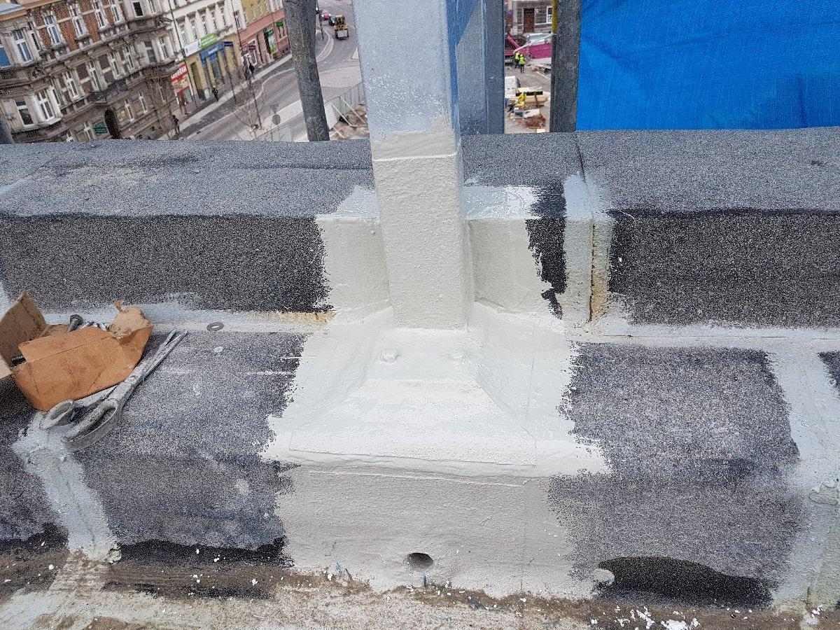 dachy płaskie użytkowe techniczne 223