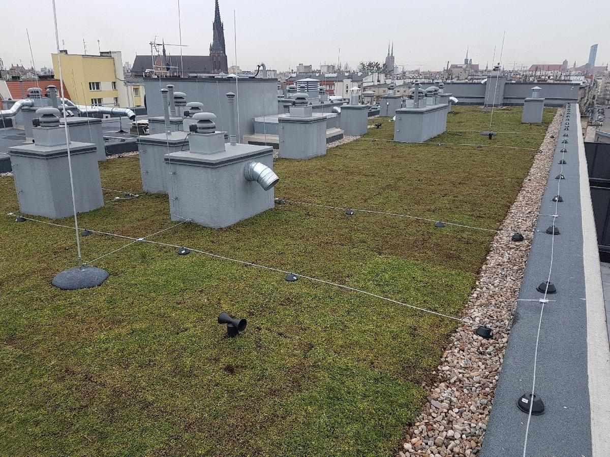 dachy płaskie użytkowe techniczne 228