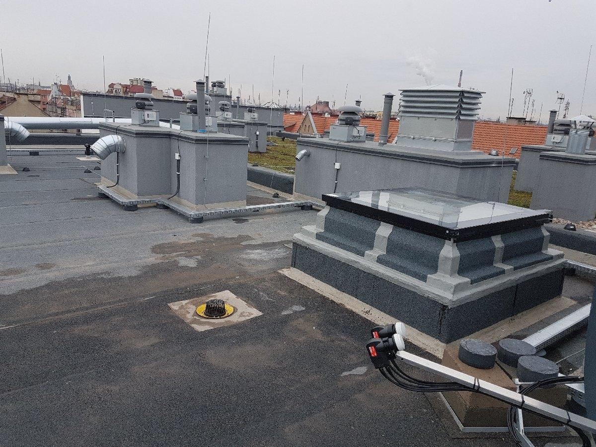 dachy płaskie użytkowe techniczne 232