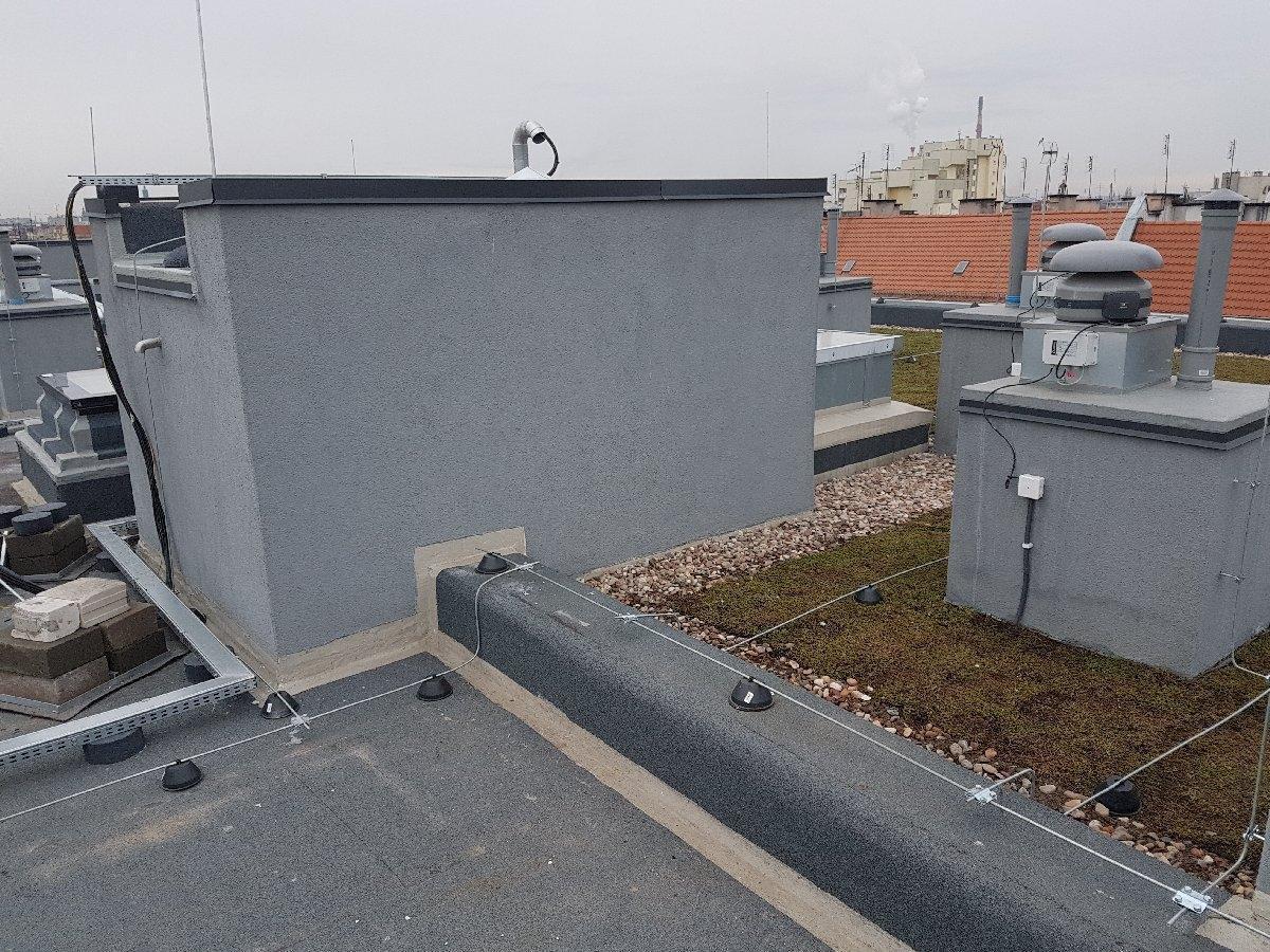 dachy płaskie użytkowe techniczne 234