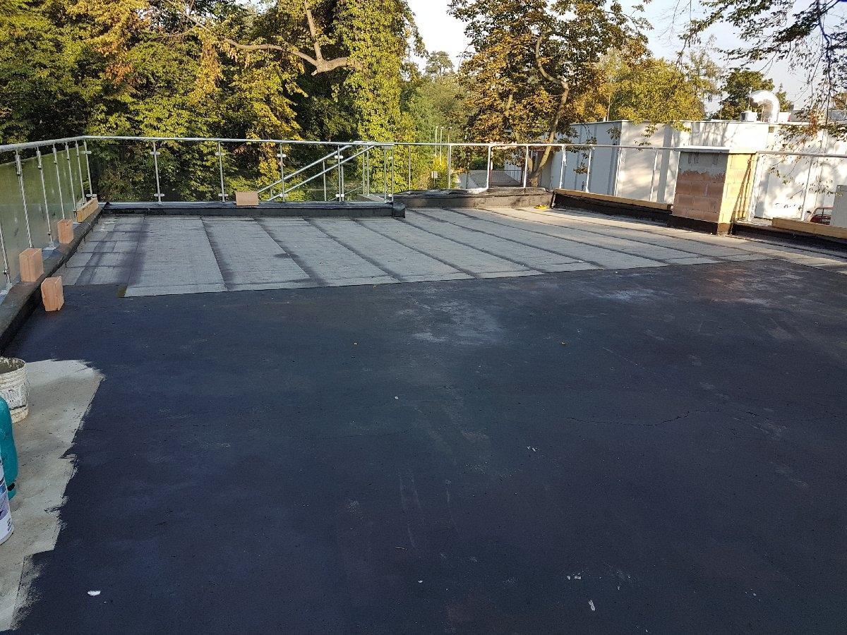 dachy płaskie użytkowe techniczne 248