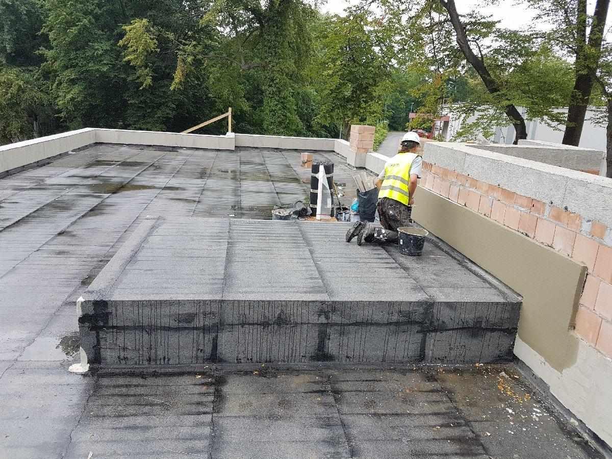 dachy płaskie użytkowe techniczne 252