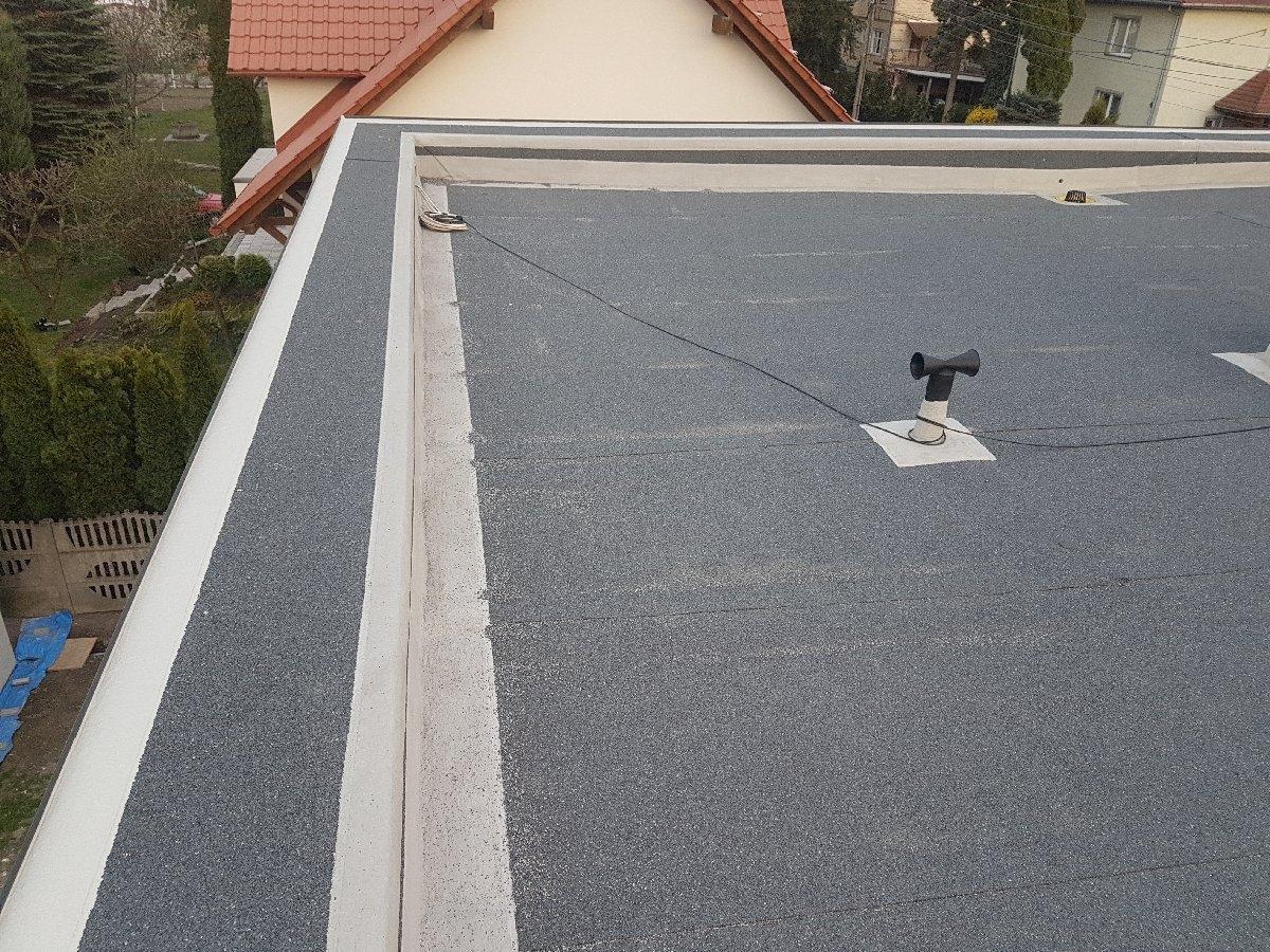 dachy płaskie użytkowe techniczne 254