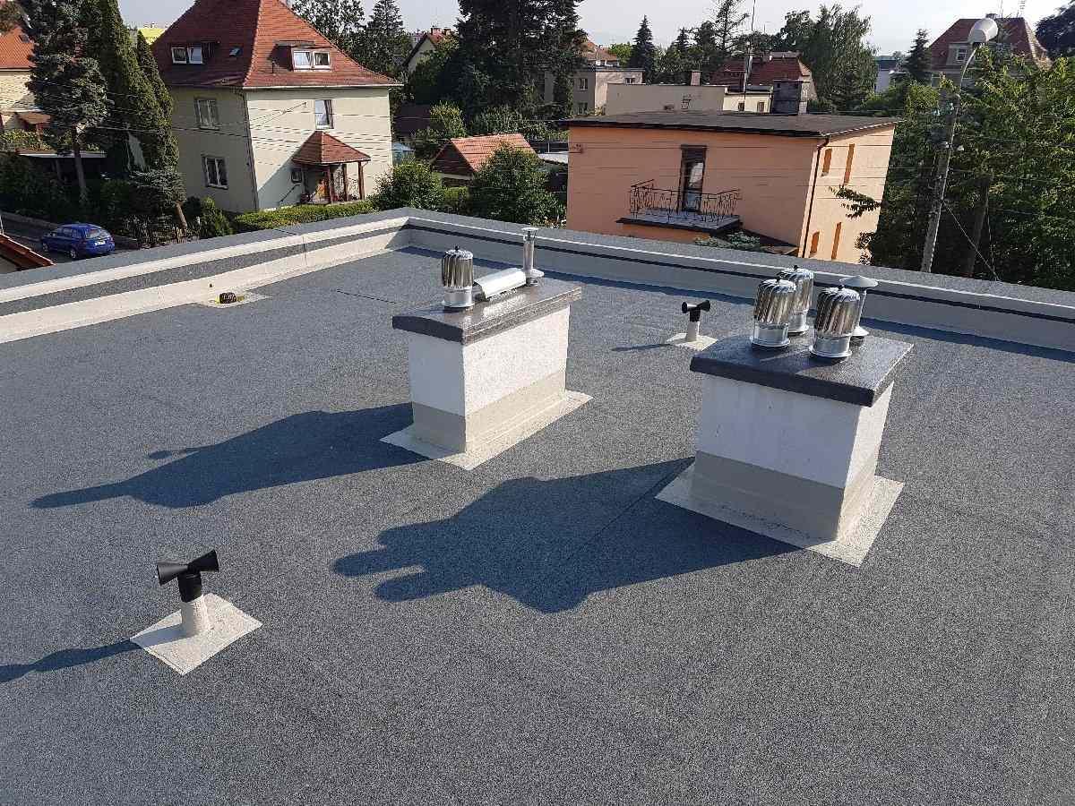 dachy płaskie użytkowe techniczne 256