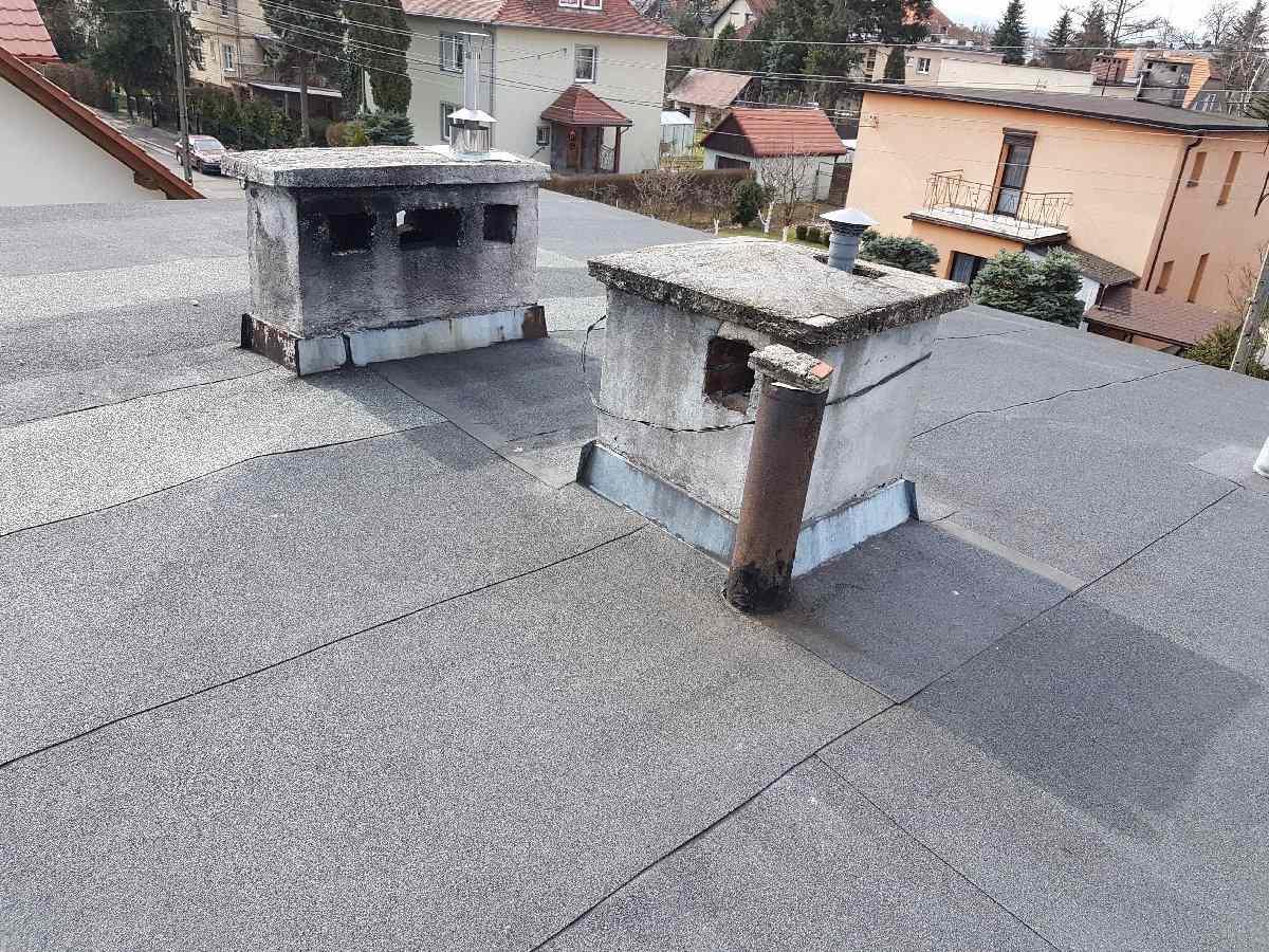 dachy płaskie użytkowe techniczne 257