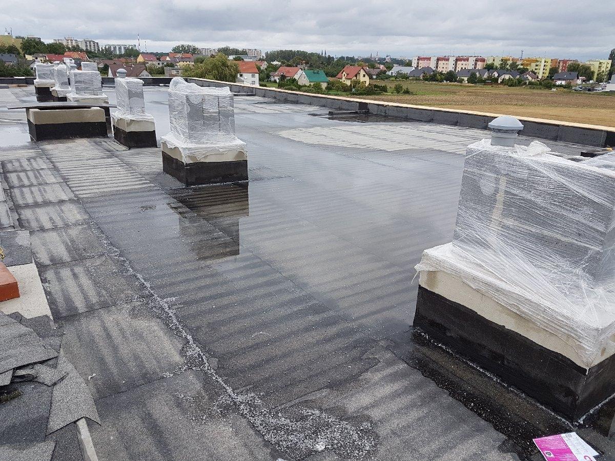 dachy płaskie użytkowe techniczne 29