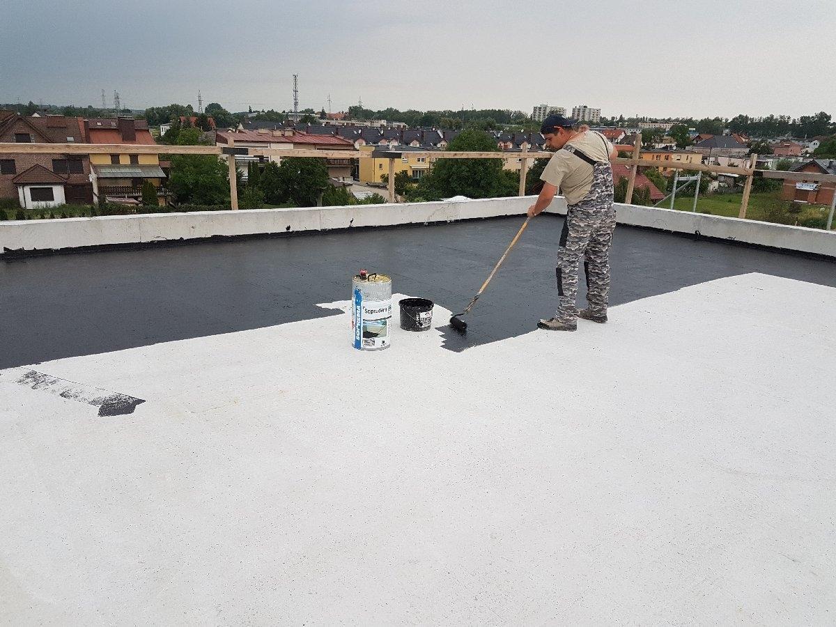 dachy płaskie użytkowe techniczne 30