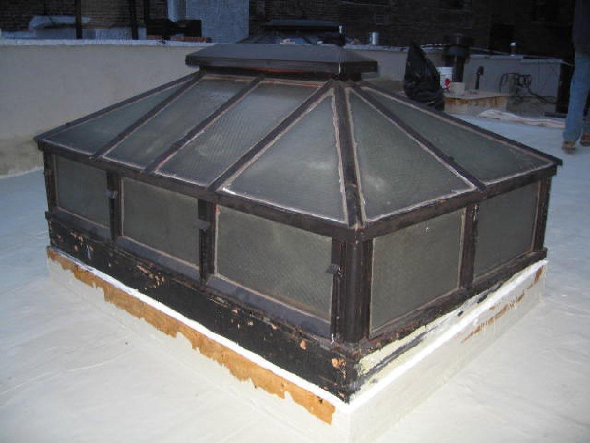 dachy płaskie użytkowe techniczne 58