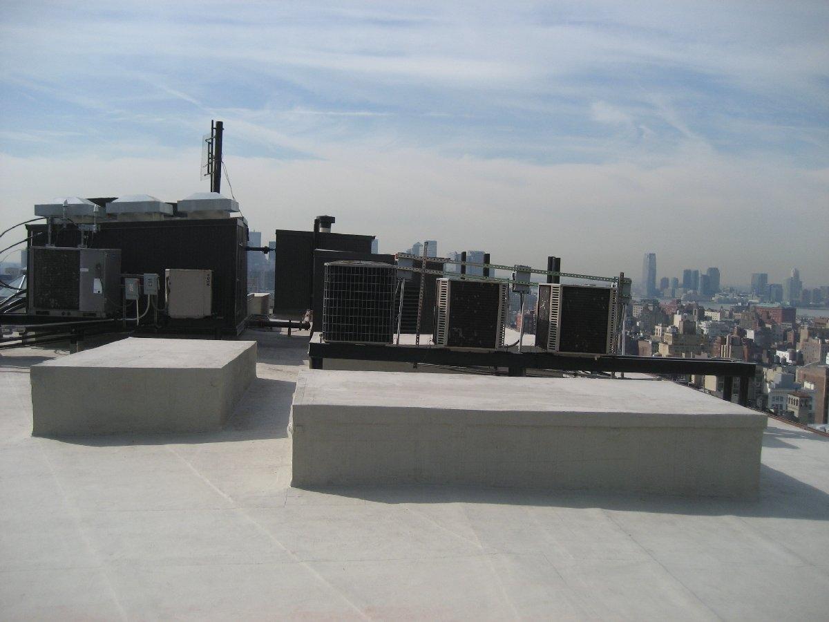 dachy płaskie użytkowe techniczne 77