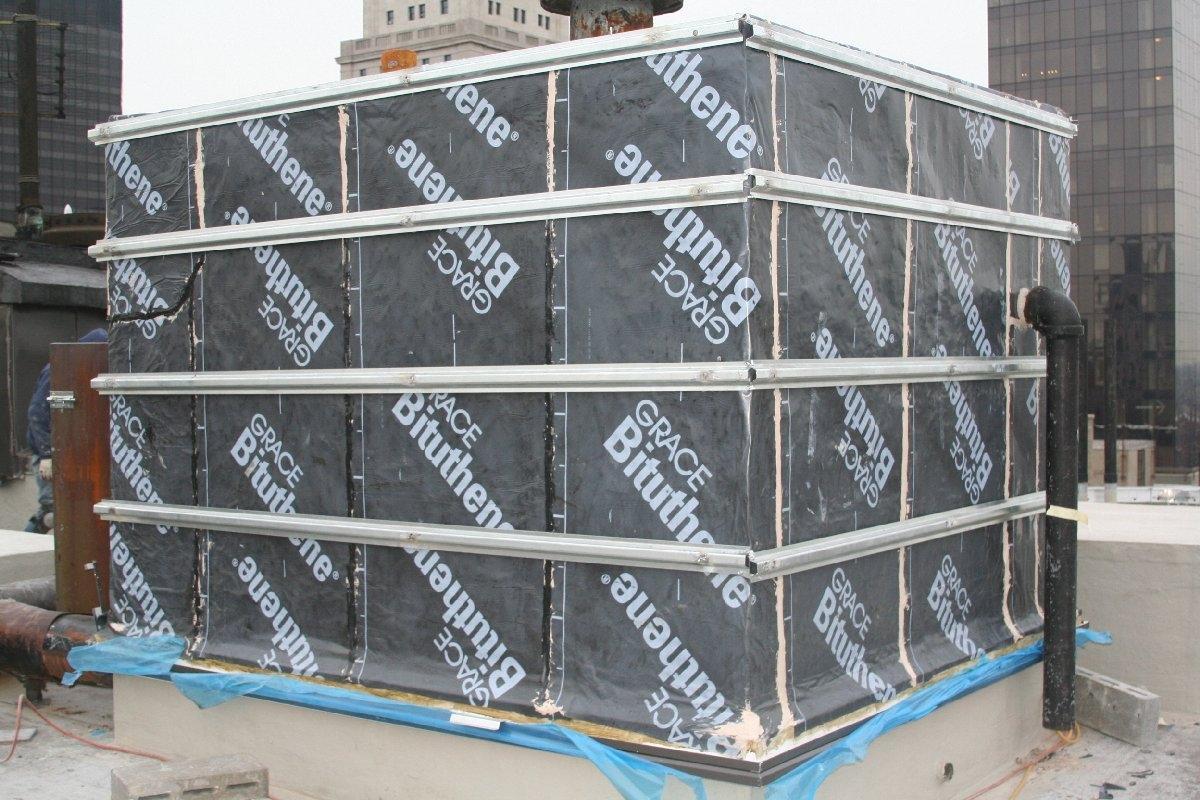 dachy płaskie użytkowe techniczne 81