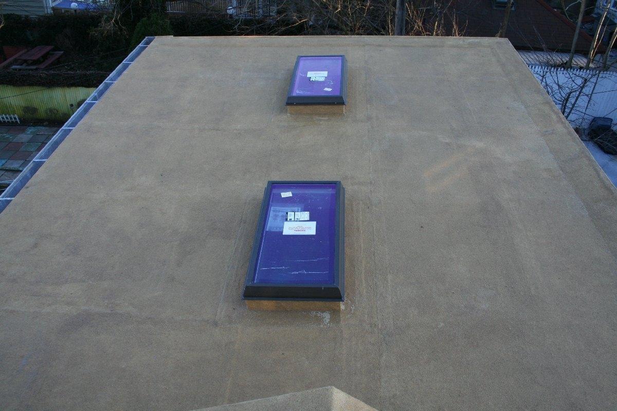 dachy płaskie użytkowe techniczne 91