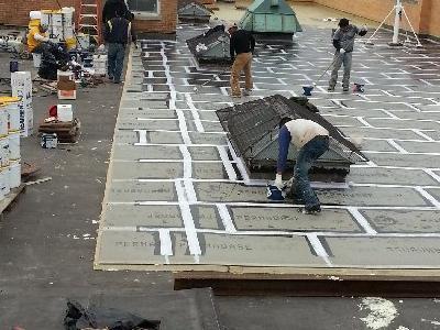 dachy płaskie użytkowe techniczne 19