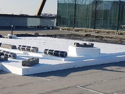 dachy płaskie użytkowe techniczne 216